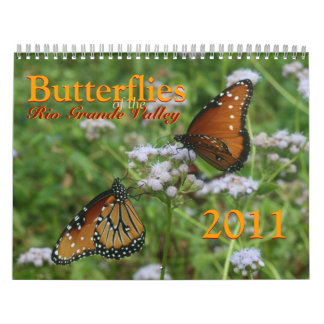 Butterflies of the Rio Grande Valley Calendar