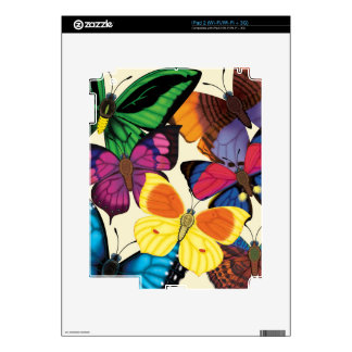 Butterflies of the World Skin For The iPad 2