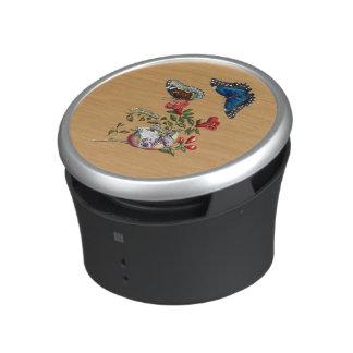 Butterflies on pomegranate speaker