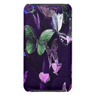 Butterflies On Purple Barely There iPod Cover