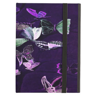 Butterflies On Purple Cover For iPad Air