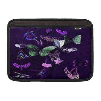 Butterflies On Purple MacBook Air Sleeve