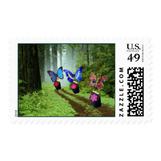 Butterflies on The Move Stamps