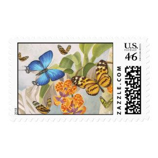 Butterflies & Orchids Stamp