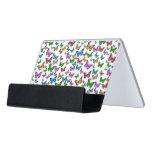Butterflies Pattern Design Desk Business Card Holder