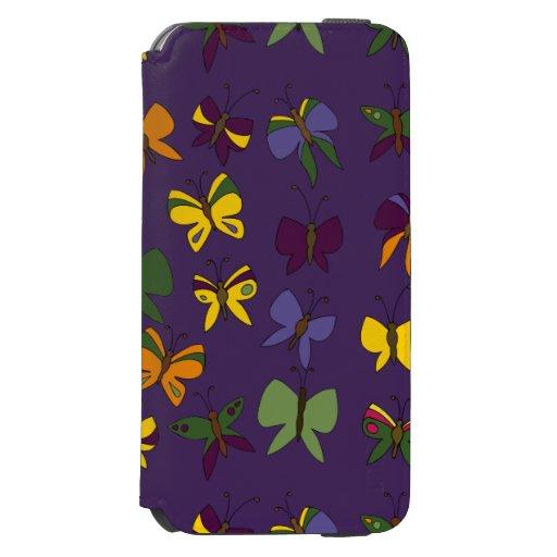 Butterflies Pattern iPhone 6/6s Wallet Case