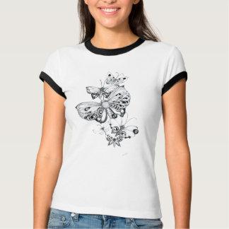Butterflies Pencil T-Shirt
