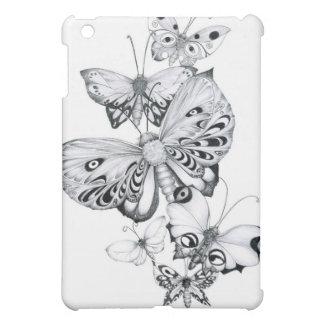 Butterflies Pencils iPad Mini Case