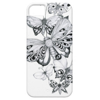Butterflies Pencils iPhone SE/5/5s Case