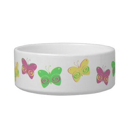 Butterflies Pet Bowls