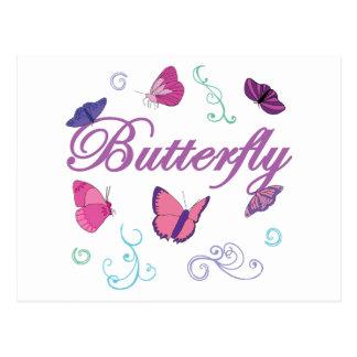 Butterflies Postcard