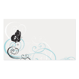 Butterflies Profile Card Double-Sided Standard Business Cards (Pack Of 100)