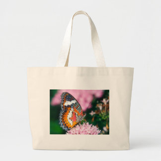 butterflies red lacewing butterfly canvas bag