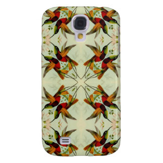 Butterflies repeating pattern Lepidoptera gift Galaxy S4 Covers