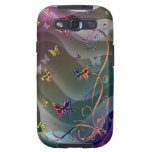 Butterflies Samsung Galaxy SIII Cover