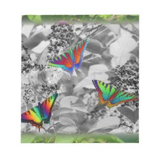 Butterflies Scratch Pad
