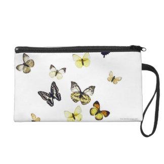 Butterflies shot on white wristlet