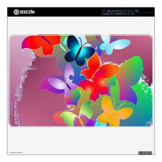 Butterflies Decal For The MacBook