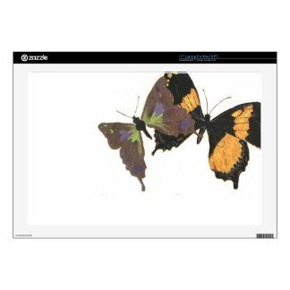 "Butterflies 17"" Laptop Skin"