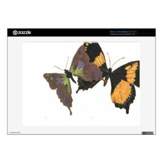 Butterflies Acer Chromebook Decals