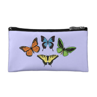 Butterflies Small Cosmetic Bag