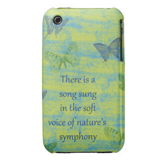 Butterflies Song Case-Mate iPhone 3 Cases