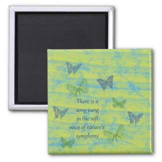 Butterflies Song Magnet