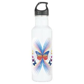 Butterflies Sports Water Bottle