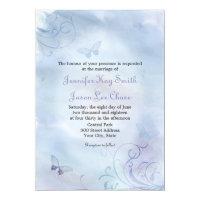 Butterflies &amp; Swirls Wedding Invitations (<em>$2.06</em>)