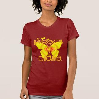 Butterflies T-shirt Supporting Barack Oama