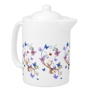Butterflies Teapot
