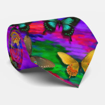 Butterflies Tie