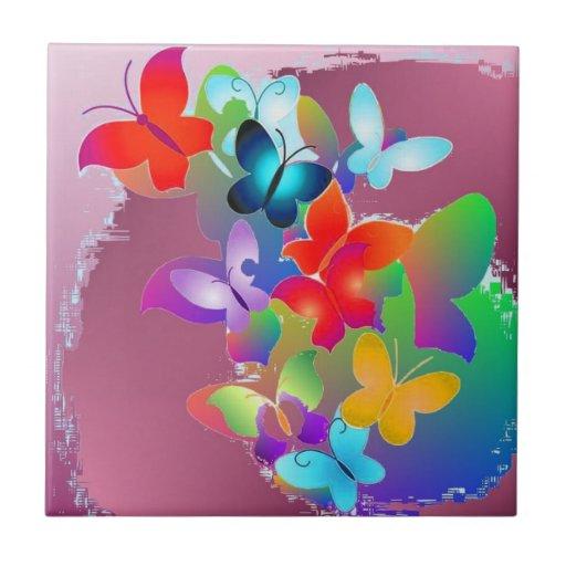 Butterflies Tiles