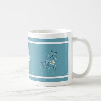 butterflies trio dots mug