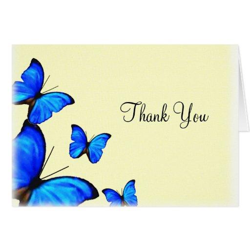 Butterflies Wedding Thank You Card Zazzle