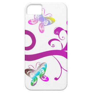 butterflies wings spring pink purple wing pattern iPhone SE/5/5s case