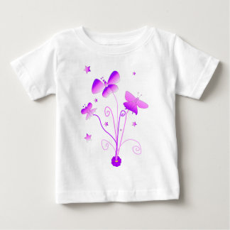 Butterflies with Flower Infant T-shirt