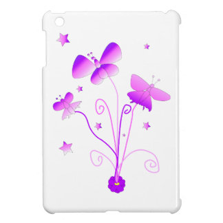 Butterflies with Flowers Case For The iPad Mini