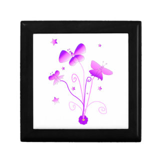 Butterflies with Flowers Gift Boxes