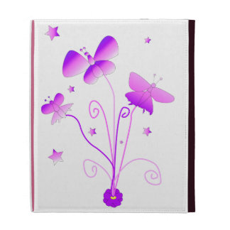 Butterflies with Flowers iPad Cases