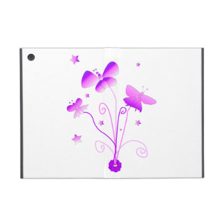 Butterflies with Flowers iPad Mini Cover