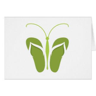 Butterflops Green 2 Card