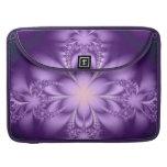 Butterflower púrpura fundas para macbooks