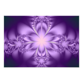 Butterflower púrpura arte con fotos