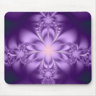 Butterflower púrpura tapete de ratones