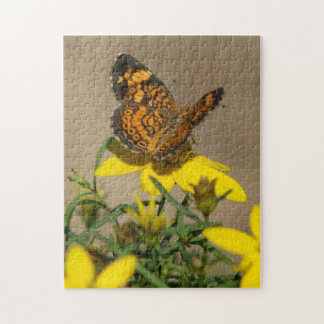 Butterfluy Photo Puzzle. Jigsaw Puzzle