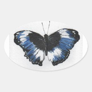 Butterfly11 Oval Sticker