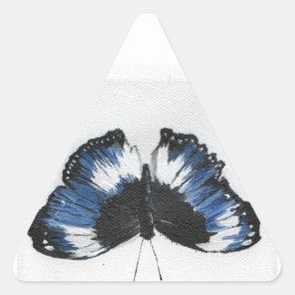 Butterfly11 Triangle Sticker