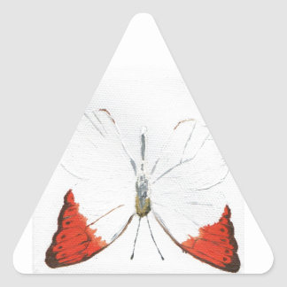 Butterfly12 Pegatina Triangular