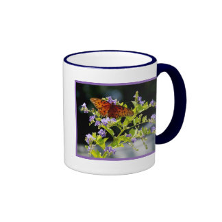 Butterfly2 Ringer Coffee Mug